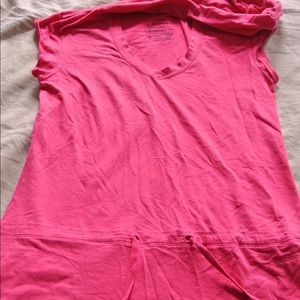 Hooded Comfy Patagonia Beach Cover Up Tunic Pink